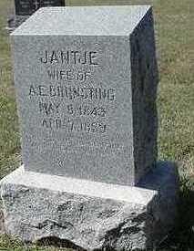 BRUNSTING, JANTJE (MRS. A. E.) - Sioux County, Iowa | JANTJE (MRS. A. E.) BRUNSTING