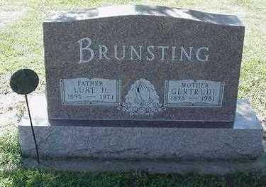 BRUNSTING, GERTRUDE - Sioux County, Iowa | GERTRUDE BRUNSTING