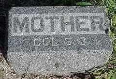 BRUNSTING, MOTHER - Sioux County, Iowa | MOTHER BRUNSTING