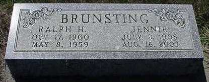 BRUNSTING, RALPH - Sioux County, Iowa | RALPH BRUNSTING