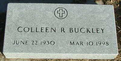 BUCKLEY, COLLEEN R. - Sioux County, Iowa | COLLEEN R. BUCKLEY