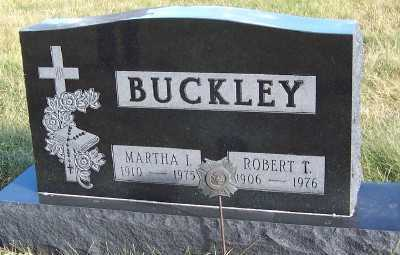 BUCKLEY, MARTHA I. - Sioux County, Iowa | MARTHA I. BUCKLEY