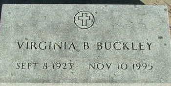 BUCKLEY, VIRGINIA B. - Sioux County, Iowa | VIRGINIA B. BUCKLEY