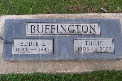 BUFFINGTON, EDDIE E. - Sioux County, Iowa | EDDIE E. BUFFINGTON