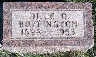 BUFFINGTON, OLLIE O. - Sioux County, Iowa | OLLIE O. BUFFINGTON