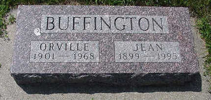 BUFFINGTON, ORVILLE - Sioux County, Iowa | ORVILLE BUFFINGTON