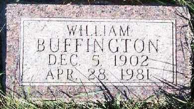 BUFFINGTON, WILLIAM - Sioux County, Iowa   WILLIAM BUFFINGTON