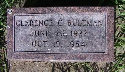 BULTMAN, CLARENCE C. - Sioux County, Iowa | CLARENCE C. BULTMAN