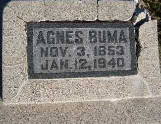 BUMA, AGNES - Sioux County, Iowa | AGNES BUMA
