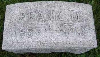 BUNTING, FRANK M. - Sioux County, Iowa | FRANK M. BUNTING
