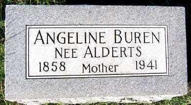 BUREN, ANGELINE - Sioux County, Iowa   ANGELINE BUREN