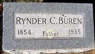 BUREN, RYNDER C. - Sioux County, Iowa   RYNDER C. BUREN