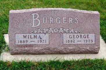 BURGERS, WILMA - Sioux County, Iowa | WILMA BURGERS