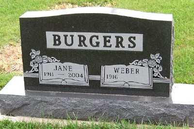 BURGERS, JANE - Sioux County, Iowa | JANE BURGERS