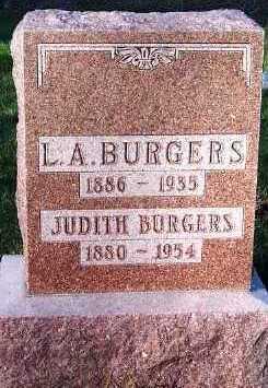 BURGERS, L. A. - Sioux County, Iowa | L. A. BURGERS