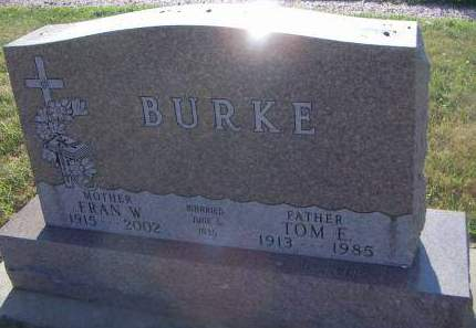 BURKE, TOM E. - Sioux County, Iowa | TOM E. BURKE