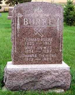 BURKE, MARY (MRS. THOMAS) - Sioux County, Iowa | MARY (MRS. THOMAS) BURKE