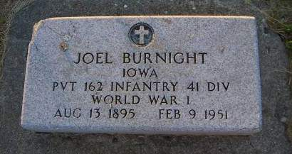BURNIGHT, JOEL - Sioux County, Iowa | JOEL BURNIGHT