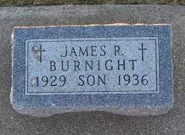 BURNIGHT, JAMES R. - Sioux County, Iowa | JAMES R. BURNIGHT