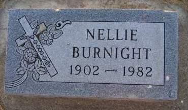 BURNIGHT, NELLIE - Sioux County, Iowa | NELLIE BURNIGHT