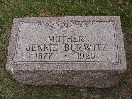BURWITZ, JENNIE - Sioux County, Iowa | JENNIE BURWITZ