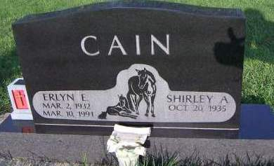 CAIN, ERLYN E. - Sioux County, Iowa | ERLYN E. CAIN