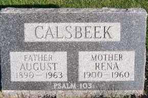 CALSBEEK, AUGUST - Sioux County, Iowa | AUGUST CALSBEEK