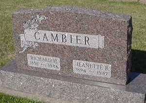 CAMBIER, JEANETTE R. - Sioux County, Iowa | JEANETTE R. CAMBIER
