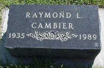 CAMBIER, RAYMOND L. - Sioux County, Iowa | RAYMOND L. CAMBIER