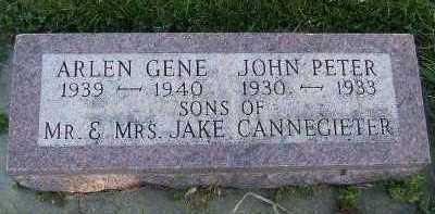 CANNEGIETER, JOHN PETER - Sioux County, Iowa | JOHN PETER CANNEGIETER