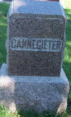 CANNEGIETER, HEADSTONE - Sioux County, Iowa | HEADSTONE CANNEGIETER