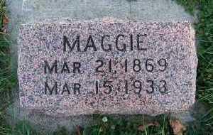 CANNEGIETER, MAGGIE - Sioux County, Iowa   MAGGIE CANNEGIETER