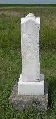 CARTER, SILAS - Sioux County, Iowa   SILAS CARTER