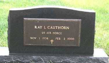 CAUTHORN, RAY L. - Sioux County, Iowa   RAY L. CAUTHORN