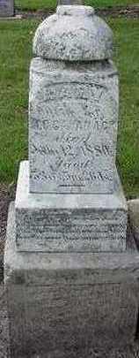 CAVANAGH, MARY (MRS. M. C.) - Sioux County, Iowa | MARY (MRS. M. C.) CAVANAGH