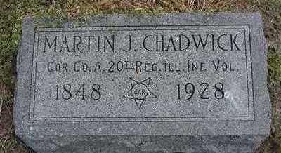 CHADWICK, MARTIN J. - Sioux County, Iowa | MARTIN J. CHADWICK