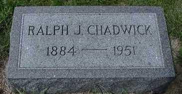 CHADWICK, RALPH J. - Sioux County, Iowa | RALPH J. CHADWICK