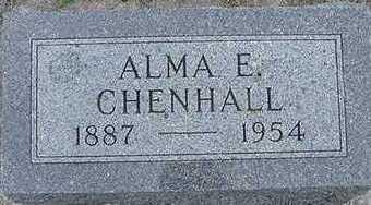 CHENHALL, ALMA E. - Sioux County, Iowa | ALMA E. CHENHALL