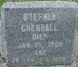 CHENHALL, HEADSTONE - Sioux County, Iowa | HEADSTONE CHENHALL