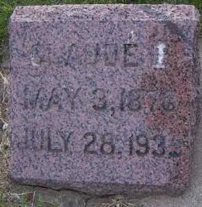 CHENOWETH, CLAUDE E. - Sioux County, Iowa | CLAUDE E. CHENOWETH