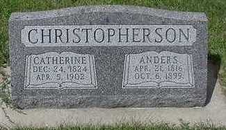CHRISTOPHERSON, ANDERS - Sioux County, Iowa | ANDERS CHRISTOPHERSON