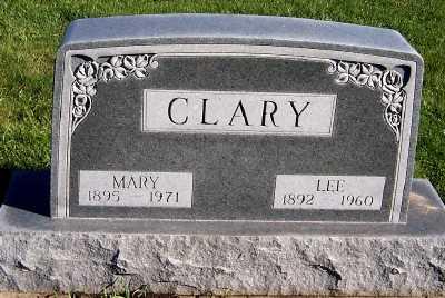 CLARY, MARY - Sioux County, Iowa | MARY CLARY