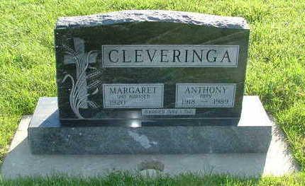 CLEVERINGA, ANTHONY - Sioux County, Iowa | ANTHONY CLEVERINGA