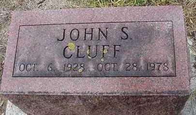 CLUFF, JOHN S. - Sioux County, Iowa | JOHN S. CLUFF