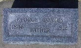 COATES, GEORGE - Sioux County, Iowa | GEORGE COATES