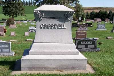 COGSWELL, HEADSTONE - Sioux County, Iowa | HEADSTONE COGSWELL