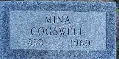COGSWELL, MINA - Sioux County, Iowa | MINA COGSWELL