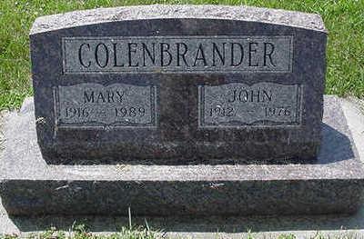 COLENBRANDER, JOHN - Sioux County, Iowa | JOHN COLENBRANDER