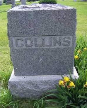 COLLINS, HEADSTONE - Sioux County, Iowa | HEADSTONE COLLINS