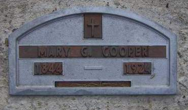 COOPER, MARY C. - Sioux County, Iowa | MARY C. COOPER